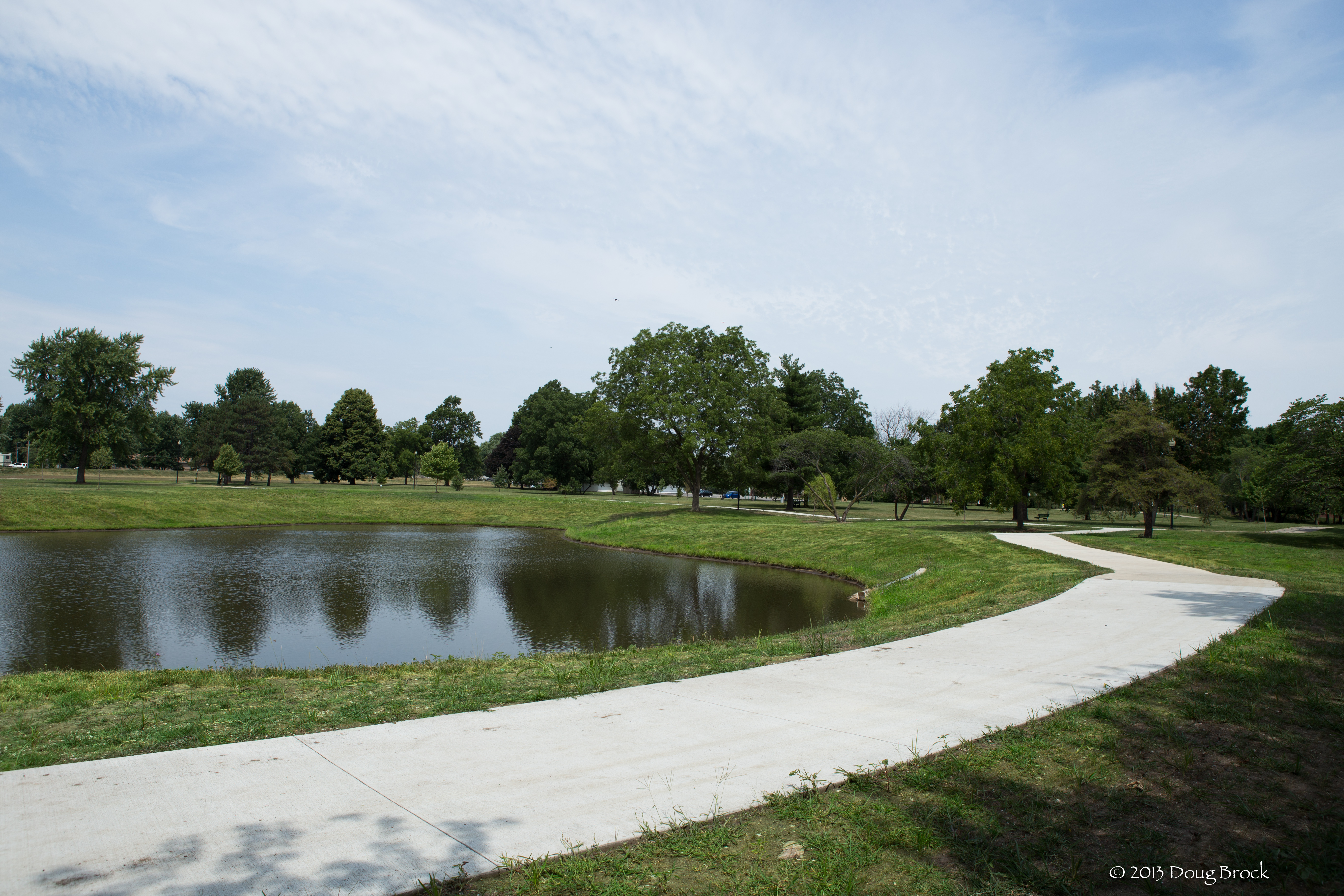 Memorial Park Pond and Trail