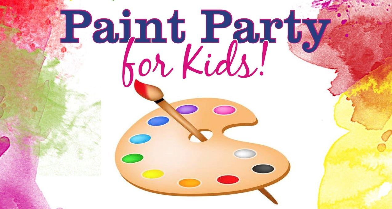 Paint Party for Kids